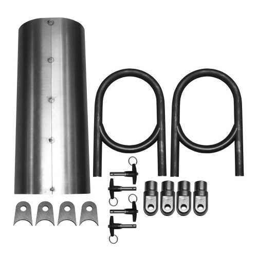 "Quarter-Max 18"" Pro Driveshaft Tunnel Kit"