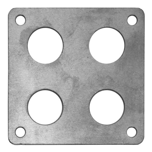"Quarter-Max Body Mount Bracket, 2"" x 2"" - Mild Steel"