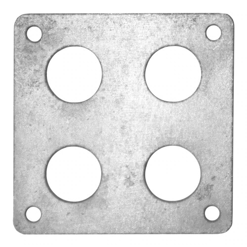 "Quarter-Max Body Mount Bracket, 2"" x 2"" - Titanium"