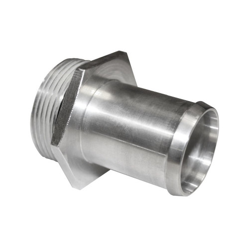 """-20 AN Port to 1-1/4"""" OD Inlet Radiator Fitting, Aluminum"""