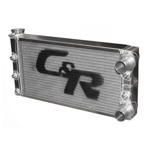 "21"" x 10"" 36 mm Single Row Radiator"