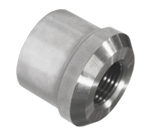 "3/8""-24 RH x 1"" .058"" Tube Adapter, Short Style"