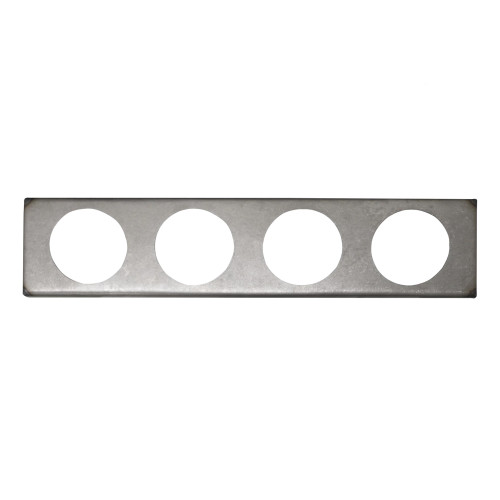 Quarter-Max 4 Hole Gauge Panel