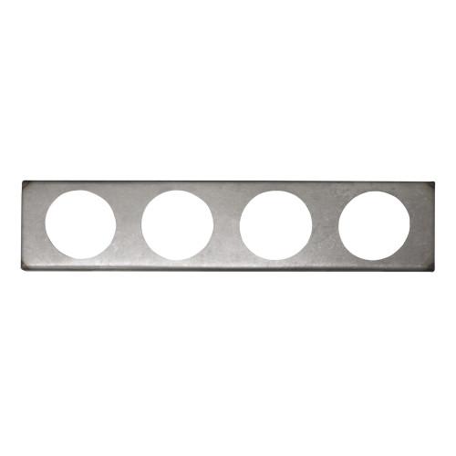 Quarter-Max 4 Hole Gauge Panel