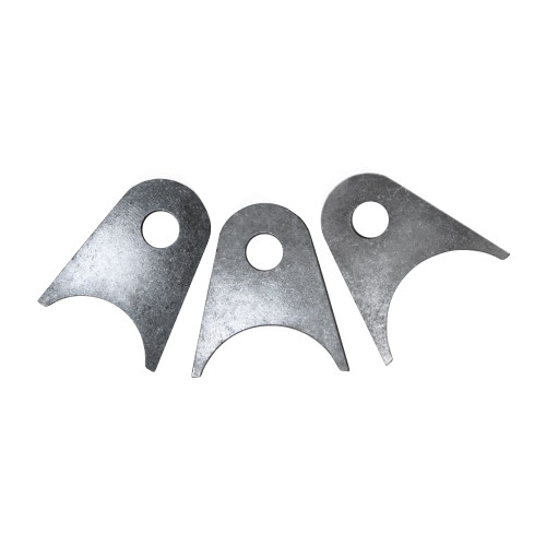 """Quarter-Max Universal Bracket, 4130, 1/8"""" Thick with 3/8"""" Hole"""
