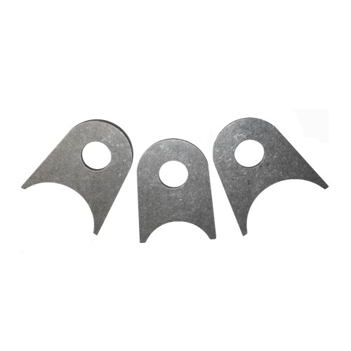 """Quarter-Max Universal Bracket, 4130, 3/16"""" Thick with 1/2"""" Hole"""