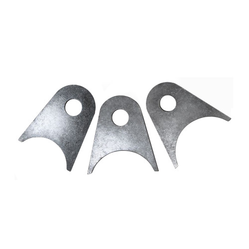 """Quarter-Max Universal Bracket, 4130, 3/16"""" Thick with 3/8"""" Hole"""