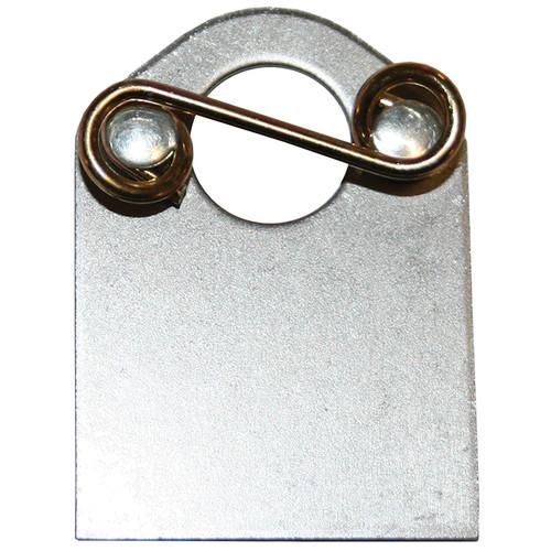 5/16 in. Quarter Turn Fastener Plate, Mild Steel