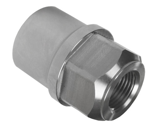"3/4""-16 RH x 1-1/2"" .095"" Tube Adapter, Hex Style"