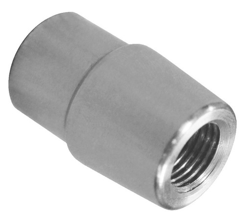 "5/8""-18 LH x 1-3/8"" .095"" Tube Adapter, Long Style"