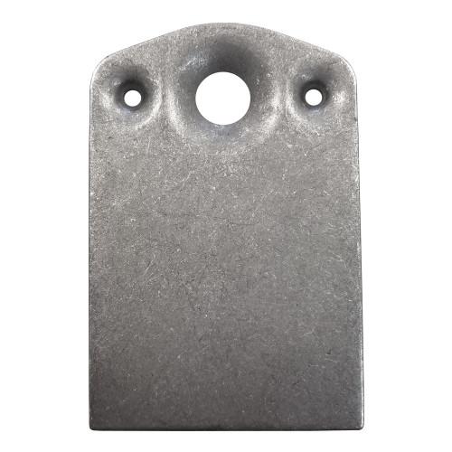 7/16 in. Quarter Turn Fastener Plate, Mild Steel