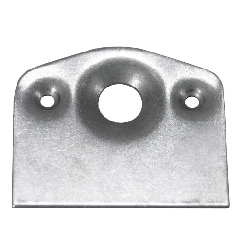 7/16 in. Quarter Turn Fastener Short Plate, Mild Steel