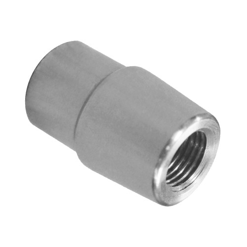 "7/16""-20 RH x 7/8"" .058"" Tube Adapter, Long Style"