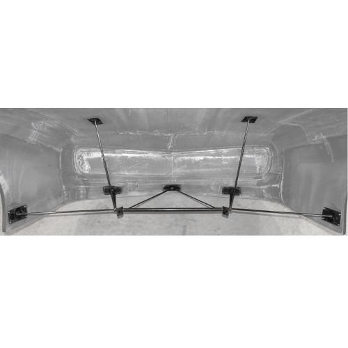 Quarter-Max Adjustable Front End Mount Kit - Installed