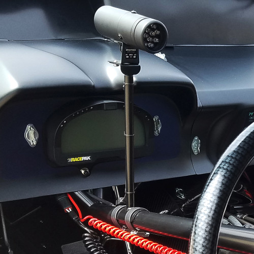 Quarter-Max Adjustable Shift Light Mount - Installed
