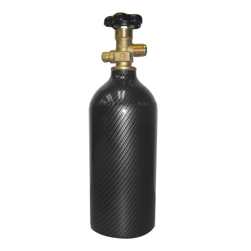 Air Bottle 2-1/2 lb with Carbon Finish