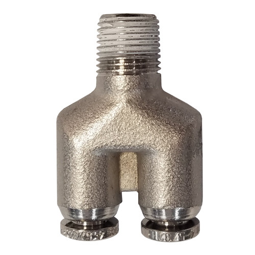 """Air Fitting 5/32"""" Y to 1/8"""" NPT"""
