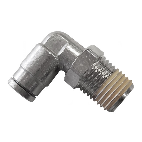 "Air Fitting 1/4"" Hose to 1/4"" NPT 90° Swivel"