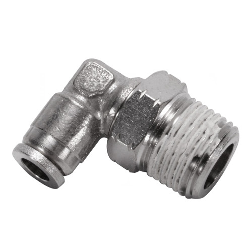 "Air Fitting 1/4"" Hose to 3/8"" NPT 90° Swivel"