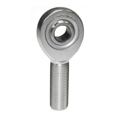 """Aurora Bearing 1/2"""" Bore x 5/8""""-18 Thread RH Male 4130 Rod End"""