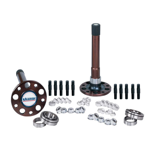 "Strange Engineering P1014 40 Spline Gun Drilled Axles, Bearings, & 5/8"" Stud Kit"