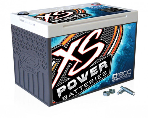 XS Power D1600 D-Series 16-Volt AGM Battery