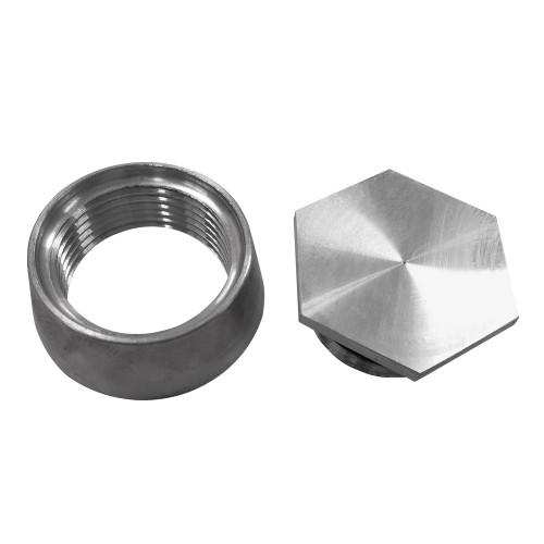 """Quarter-Max - 1-1/2"""" Aluminum Cap & Bung"""