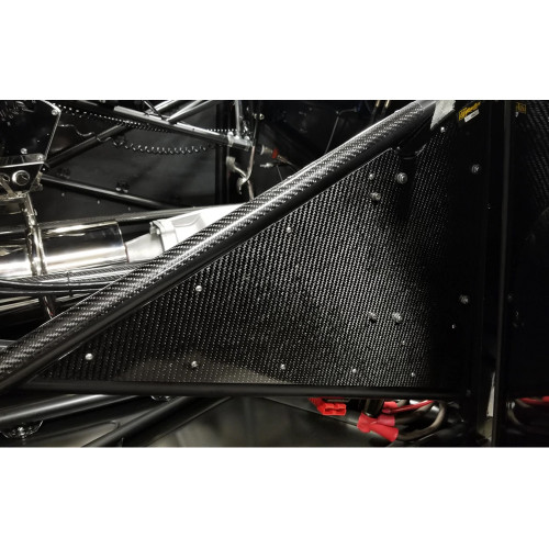Quarter-Max Carbon Fiber Sheet - Installed