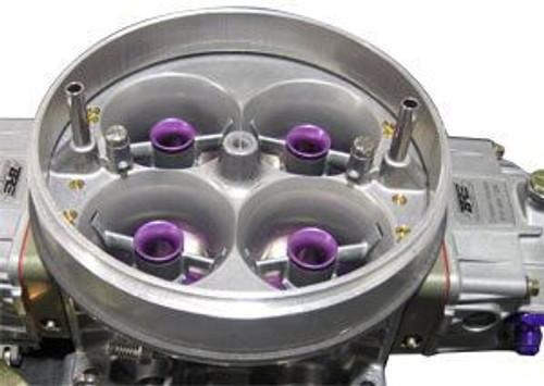 Holley 4500 Carburetor Spacer Ring installed.
