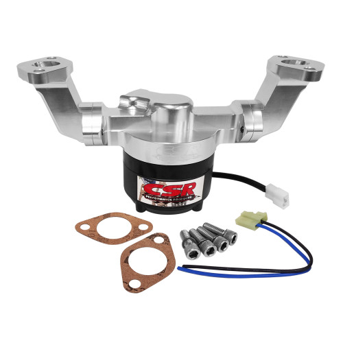 CSR 900NC Big Block Chevy Billet Aluminum Water Pump, Clear