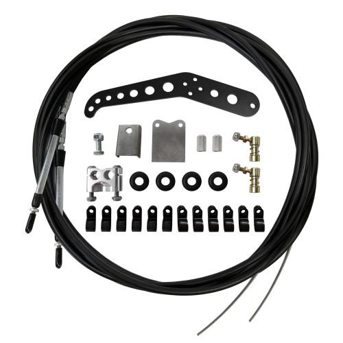 Dual Parachute Cable Kit - Black Handle