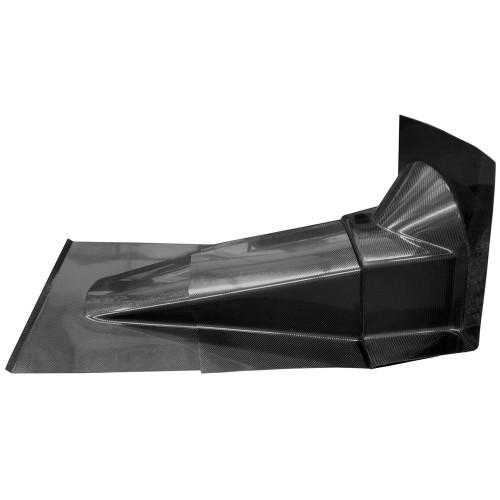 Quarter-Max Four-Piece Carbon Fiber Transmission Tunnel Kit