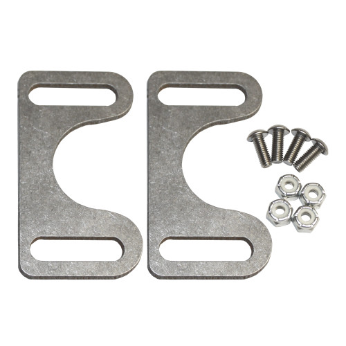 Quarter-Max Front End Fork Stopper Kit - Raw Brackets