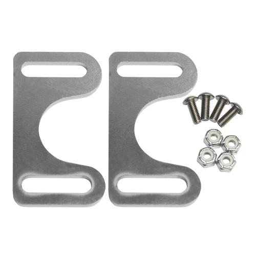 Quarter-Max Front End Fork Stopper Kit - Plated Brackets