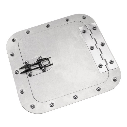 Quarter-Max Aluminum Access Door, Surface Mount