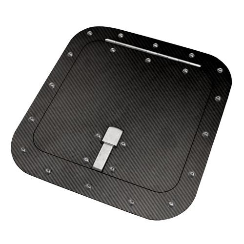 Quarter-Max Carbon Fiber Access Door, Surface Mount