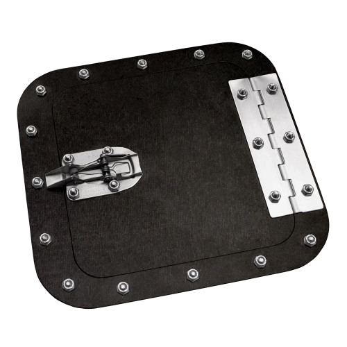 Quarter-Max Carbon Fiber Access Door, Surface Mount
