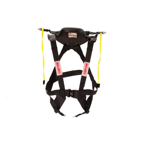 Simpson Racing Hybrid Pro Rage Head/Neck Restraint Sliding Tether