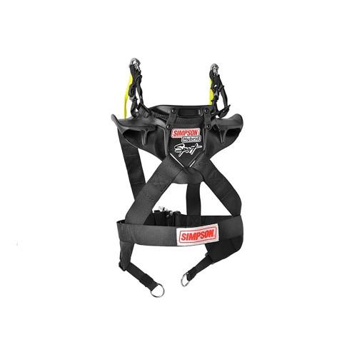 Simpson Racing Hybrid Pro Rage Head/Neck Restraint Sliding Tether