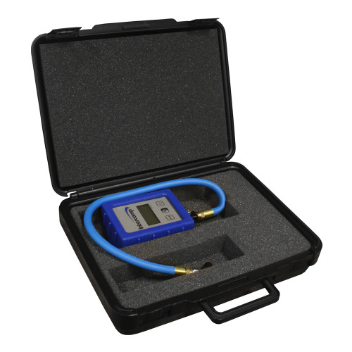 Intercomp Digital Air Pressure Gauge with Angle Chuck, 99.99 PSI