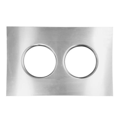 Quarter-Max Dual Aluminum Isolator Tray
