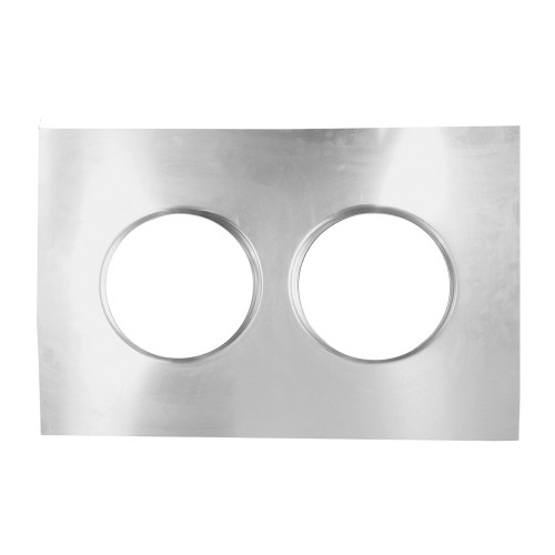 Quarter-Max Dual Aluminum Isolator Tray