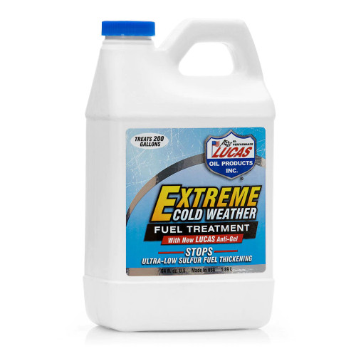 Lucas Oil Extreme Cold Weather Fuel Treatment - 1/2 Gallon