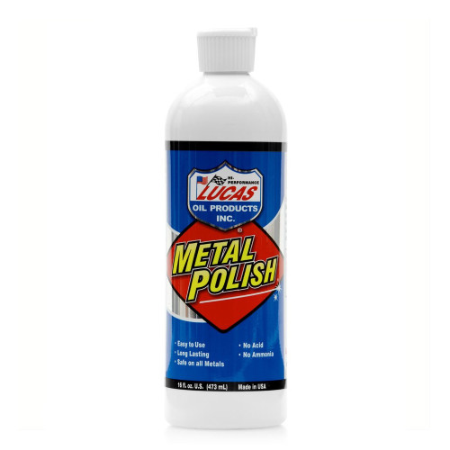 Lucas Oil Metal Polish - 16 Ounces