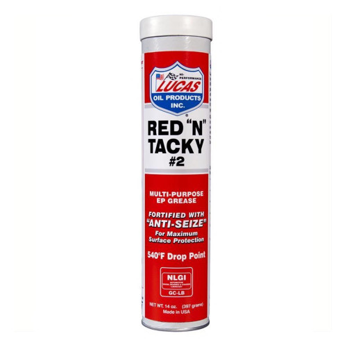"""Lucas Oil Red """"N"""" Tacky Grease"""