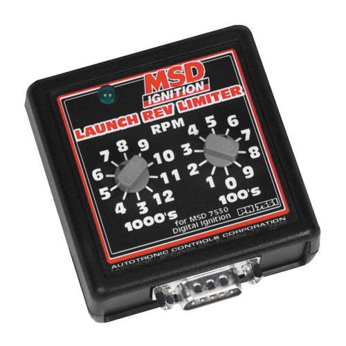 MSD Launch Rev Limiter Switch Box