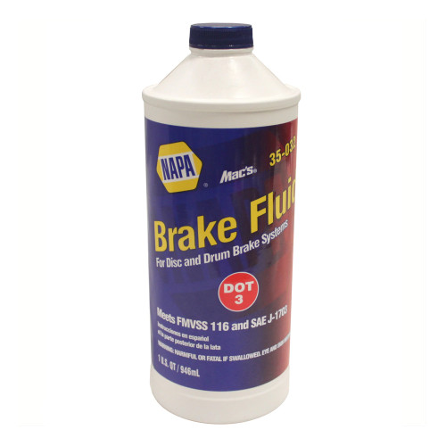 NAPA DOT 3 Heavy Duty Brake Fluid