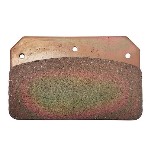 Strange Engineering B3326 Brake Pad, Hard Metallic, Wilwood & JFZ Four Piston Calipers