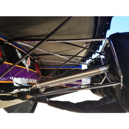 Pro Narrow Dual Parachute Mount - Installed