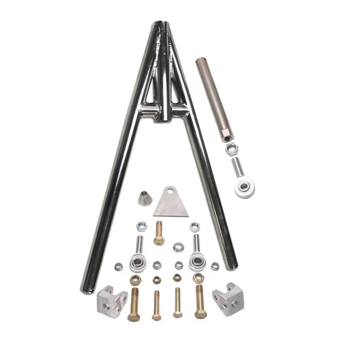 Pro Series Welded Wishbone with Hardware, Plated